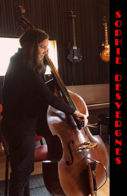 9 Sophie DESVERGNES, Double bass BEST